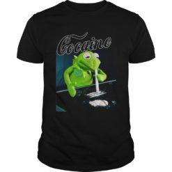 Kermit the frog doing coke shirt shirt - Kermit the frog doing coke shirtv 247x247