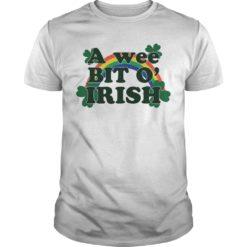 A Wee Bit O' Irish shirt shirt - A Wee Bit O Irish shirt 247x247