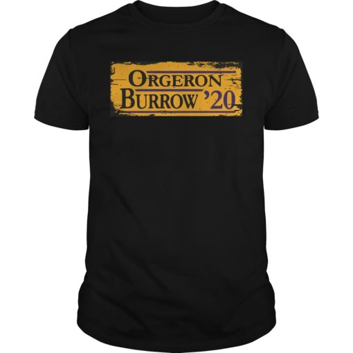 Orgeron Burrow 2020 shirt shirt - Available in a variety of styles and colors. Buy yours now before it is too late. 510x510
