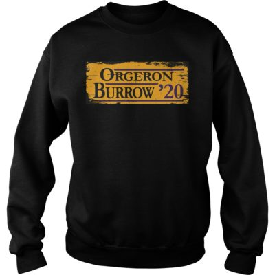 Orgeron Burrow 2020 shirt shirt - Available in a variety of styles and colors. Buy yours now before it is too late.vvv  400x400