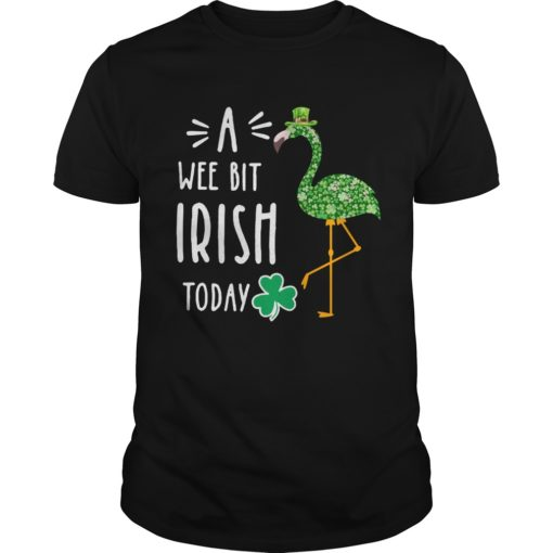 A Wee Bit Irish Today Flamingo St Patrick's Day shirt shirt - So always available for the chosen of you. If you are looking for this awesome t shirt you can buy now in the store of us. 510x510