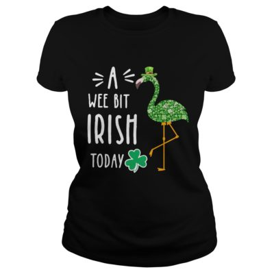 A Wee Bit Irish Today Flamingo St Patrick's Day shirt shirt - So always available for the chosen of you. If you are looking for this awesome t shirt you can buy now in the store of us.v 400x400