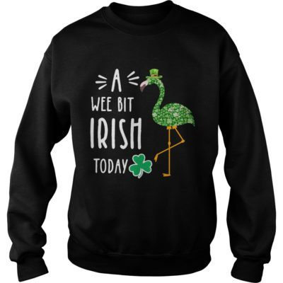A Wee Bit Irish Today Flamingo St Patrick's Day shirt shirt - So always available for the chosen of you. If you are looking for this awesome t shirt you can buy now in the store of us.vv  400x400