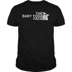 The Baby Yoda Face shirt shirt - The Baby Yoda Face shirt 247x247