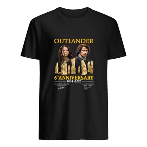 Outlander 6th Anniversary shirt shirt - e Copy 510x510