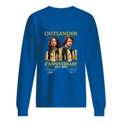 Outlander 6th Anniversary shirt shirt - eeee Copy 400x400