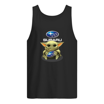 Baby Yoda hug Subaru t-shirt shirt - ww 400x400
