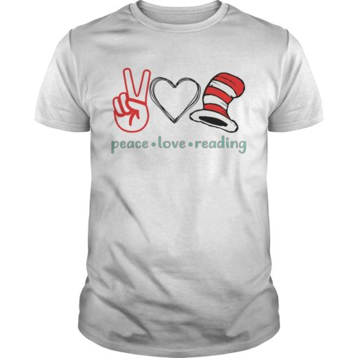 Peace love reading shirt shirt - peace love reading shirtv 510x510