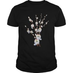 White cat willows flowers gift shirt shirt - For everybody who is looking for this awesome t shirt. Buy now in the here in the store of us nextlevela Copy 247x247
