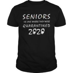Seniors the one where they were quarantined 2020 shirt shirt - Seniors the one where they were quarantined 2020 shirt 247x247