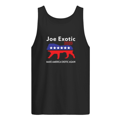 Make America Exotic again shirt shirt - make america exotic again shirt men s tank top black front 400x400
