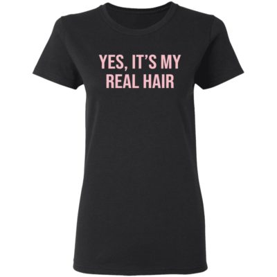 Yes it's my real hair shirt shirt - bb 2 400x400