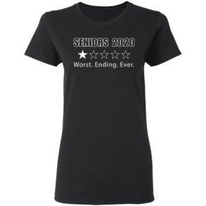 Seniors 2020 worst ending ever shirt shirt - Seniors 2020 worst ending ever shirtvv