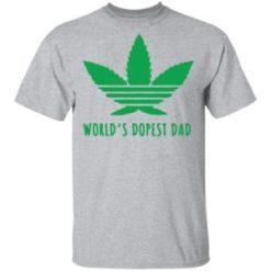 Marijuana Weed world's dopest dad shirt shirt - a 14 247x247