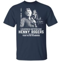 Legends Never Die 1938 2020 Kenny Rogers thank you for the memories shirt shirt - f 2 247x247